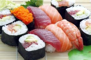 sushi. pescado crudo. riesgo anisakis.