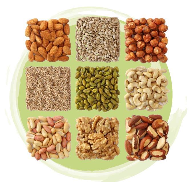 cereales legumbres frutos secos semillas
