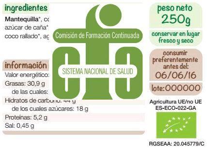 Programa completo etiquetado de los alimentos