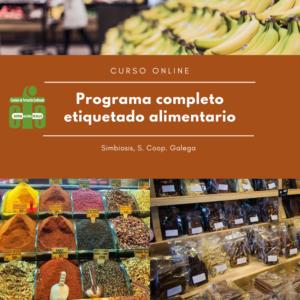 Programa completo etiquetado alimentos