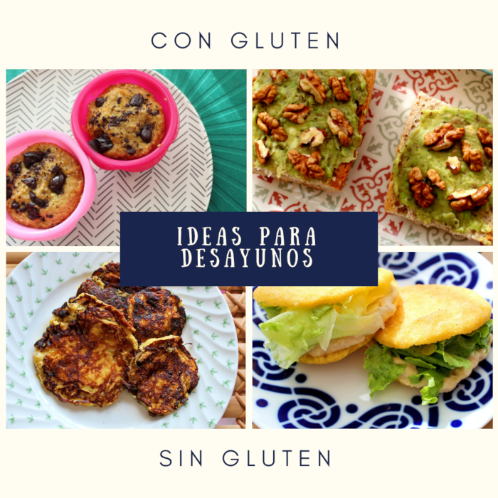 Ideas desayuno sin gluten