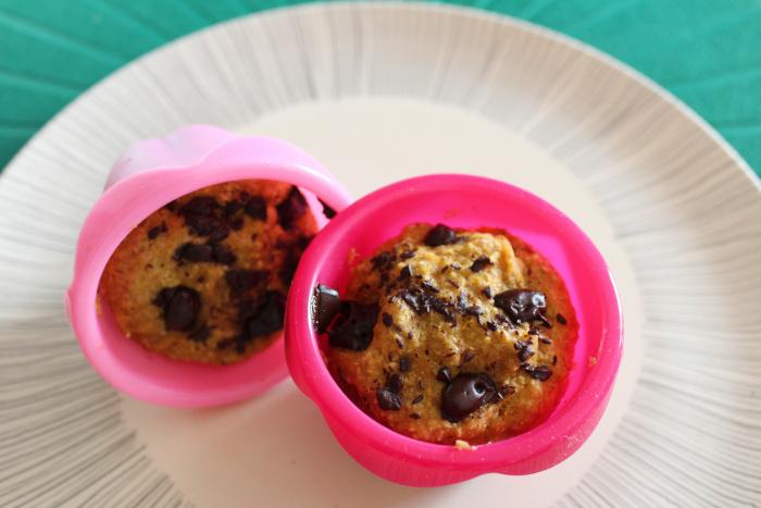 mugcake calabaza y chocolate. Magdalena
