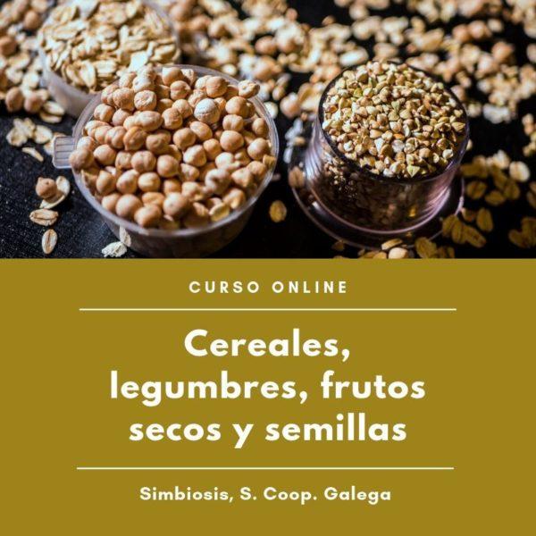 Curso Cereales, legumbres, frutos secos y semillas