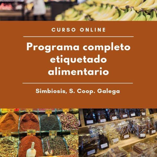 Programa completo de formación en etiquetado alimentario