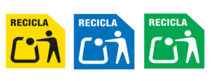 símbolos reciclaje ecoembes