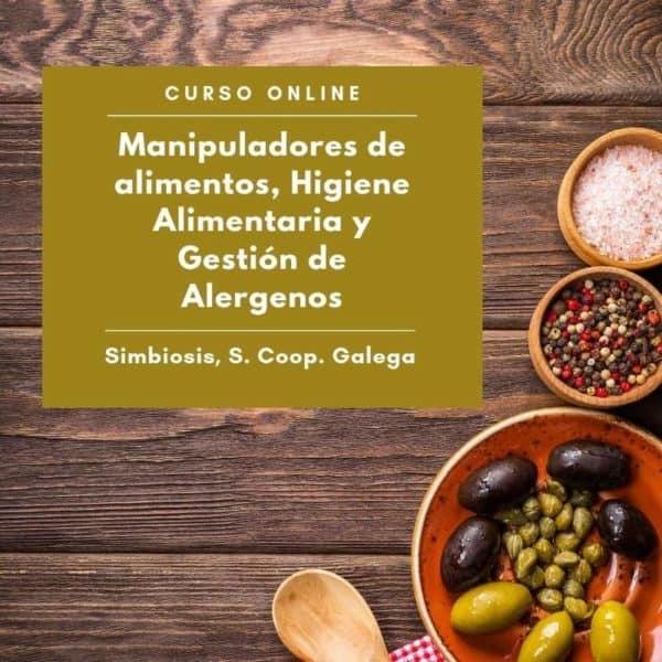 manipuladores alimentos. higiene alimentaria. gestion alergenos