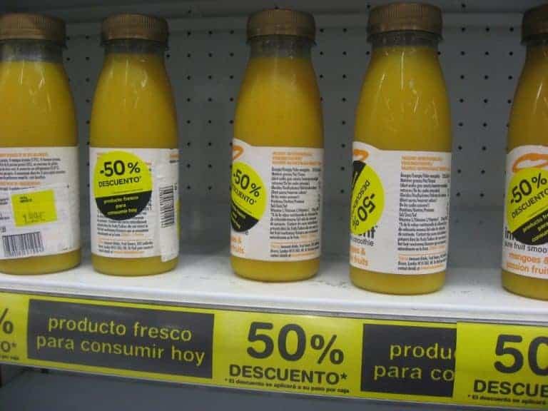 etiquetado alimentos obligatorio