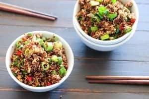 plato de quinoa