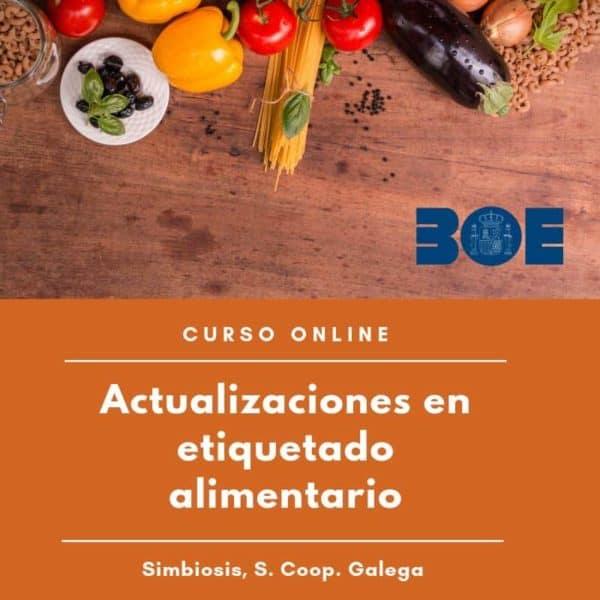 curso Actualizacion legislacion etiquetado alimentos