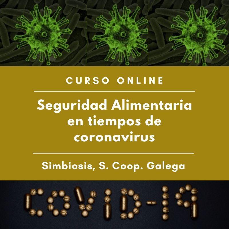 """Curso """"Seguridad Alimentaria en tiempos de coronavirus"""""""
